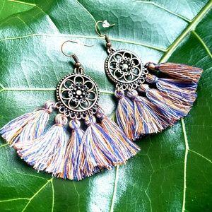 🆕️Festival Tassel Bohemian Multicolored Earrings